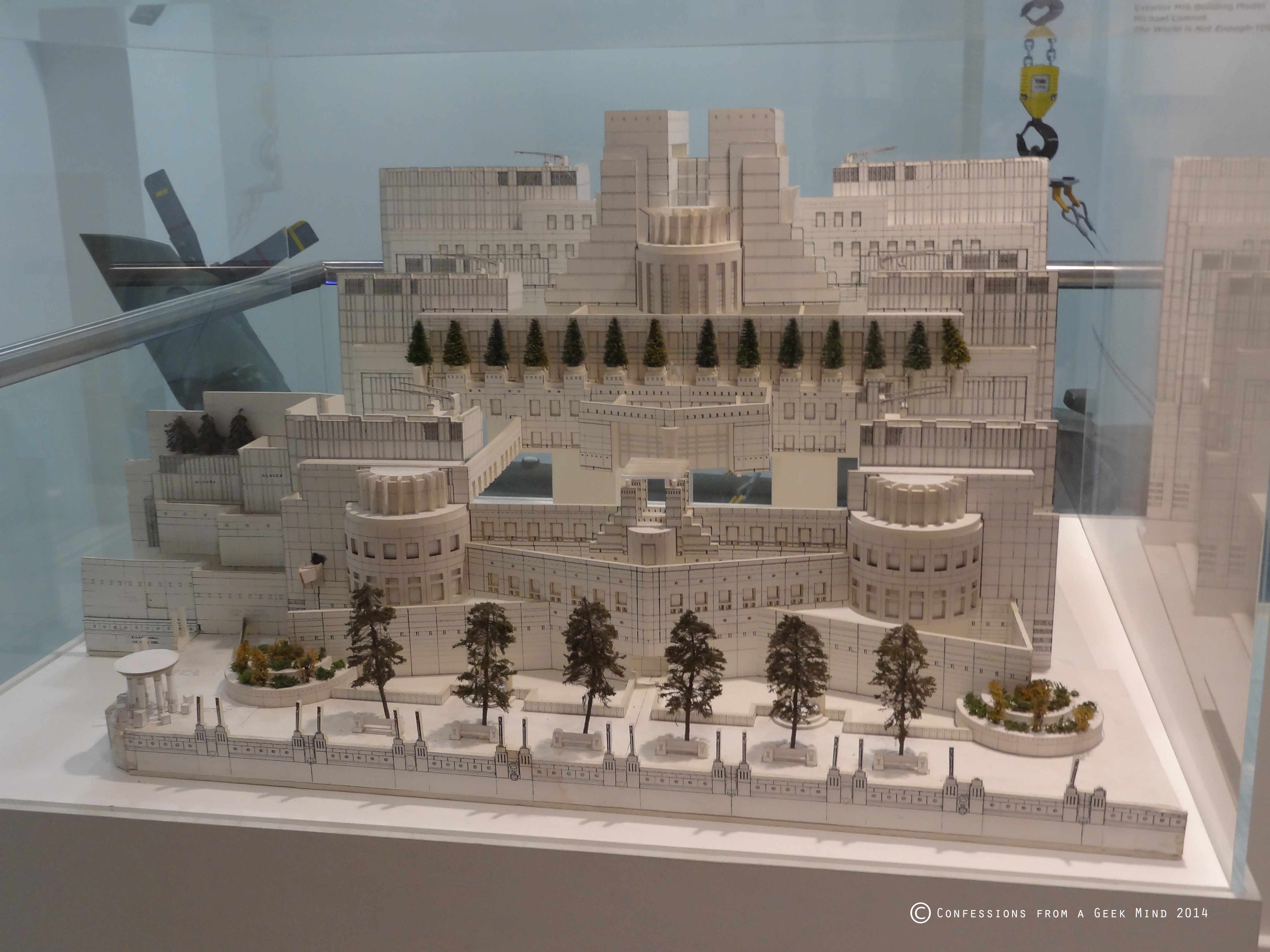 Bond in motion mi6 model building confessions from a geek mind