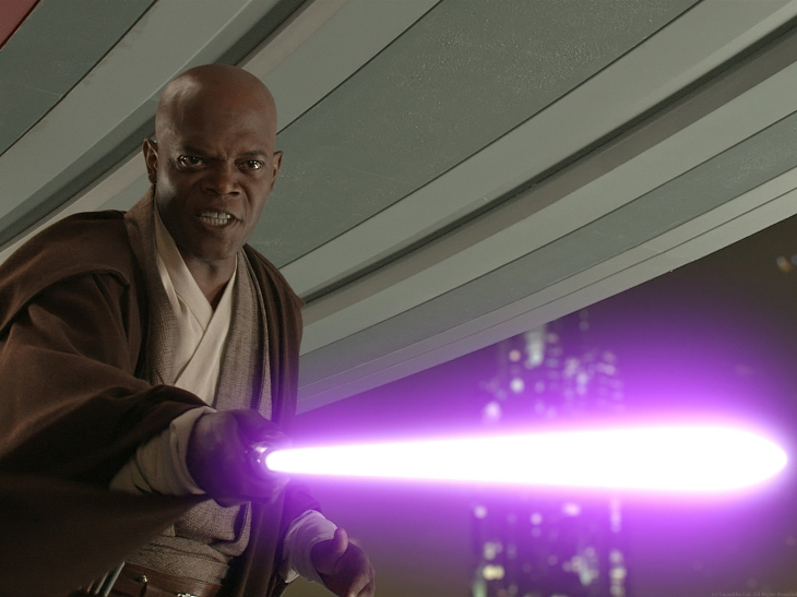 Samuel L. Jackson - Star Wars Prequel Trilogy