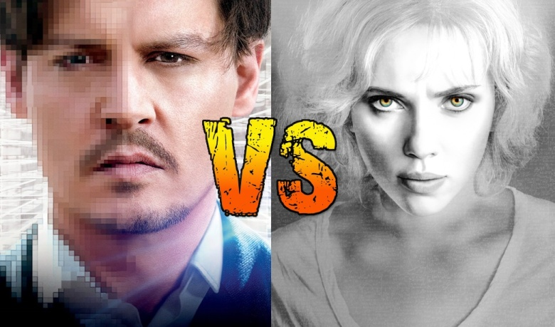 Movie Showdown - Transcendence vs. Lucy