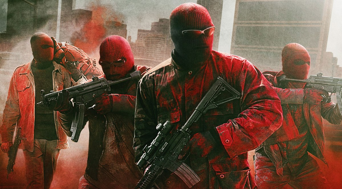 """There's no limit to what desperate men will do when pushed."" - Triple 9 Review"