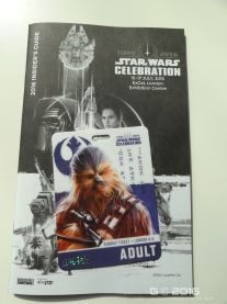 Pass and booklet - Chewie, we're home