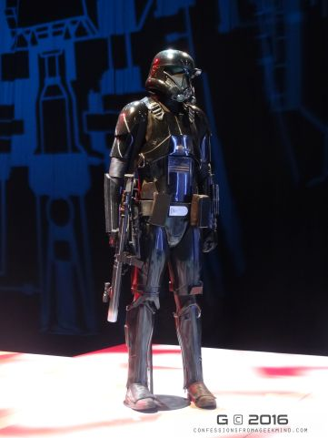 Imperial Death Troopers based on the original Stormtrooper design by George Lucas