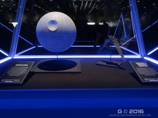 The Death Star & Krennic's Imperial Shuttle