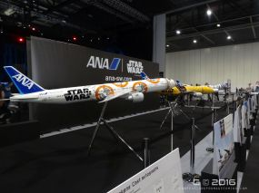 Star Wars branded planes