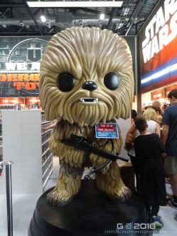 This is probably the biggest Chewbacca Funko Pop toy you will ever see!