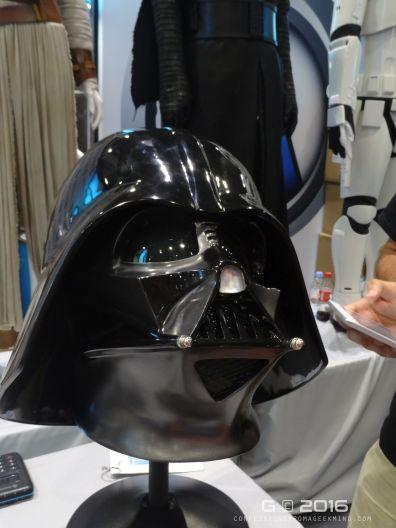Darth Vader helmet - it's massive!