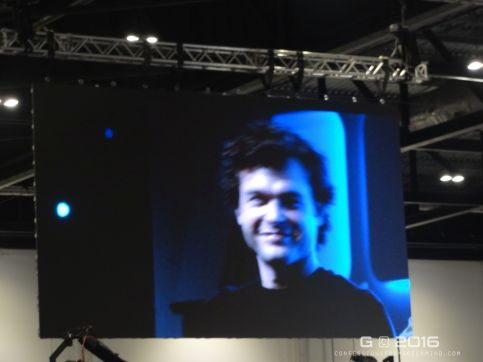 Alden Ehrenreich at Star Wars Celebration